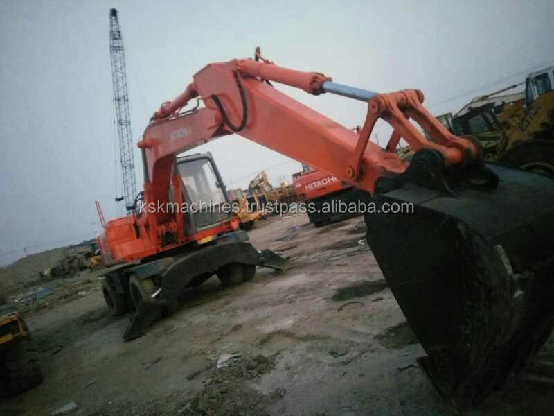 Japan Best Price Mini Wheel Excavator EX160WD With CE Certificate for sale