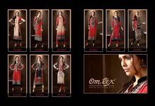 Omtex Olivia Cotton Satin Kurtis Kurta New look New desinges Kurti