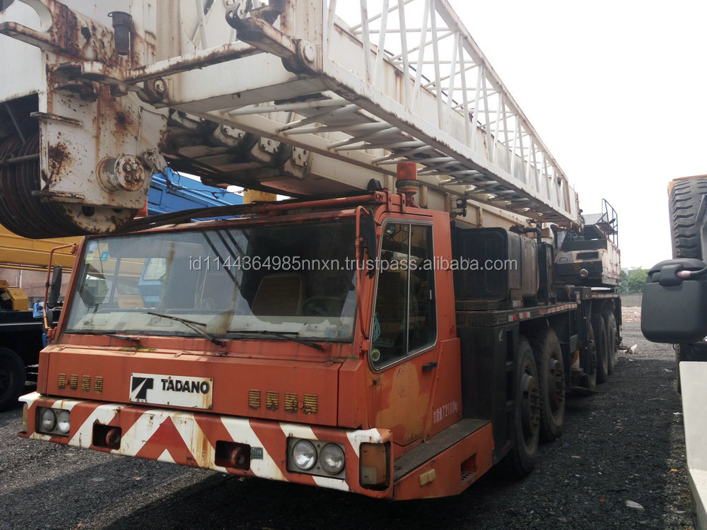 150 TON TADANO building crane secondhand crane crane truck TG-1500E JAPAN origin for sale in shanghai china
