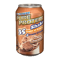 Pure Protein Shake, Vanilla 4/11 Oz by Worldwide Sport Nutrition