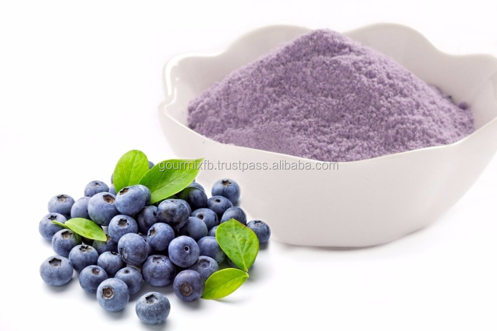 Blueberry Powder /Natural/Pure/Fresh fruit flavor / For Healthcare ice blended Bubble tea Bakery Dried fruit