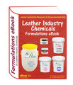 Formulations eBooks on leather industry chemicals (ebook14)