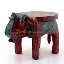 Adorable Designer Handicraft Durable Wooden Elephant Statue/Beautiful Decorated stylish Elephant Statue