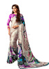 Submissive Multi Color Satin Silk Saree/saree printing machine/Saree Wholesaler In India