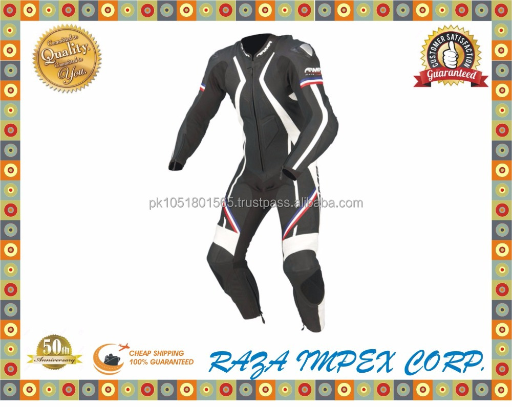 2016 Best Leather suit Best style motorbike/motorcycle leather suit