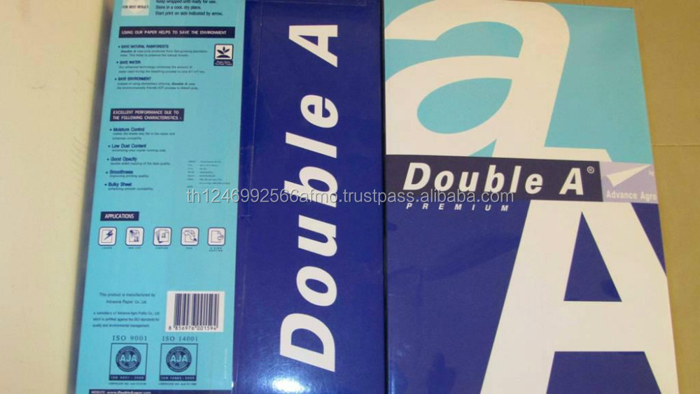 Best quality double A A4 paper wholesale price for double a a4 paper copy paper 80gsm