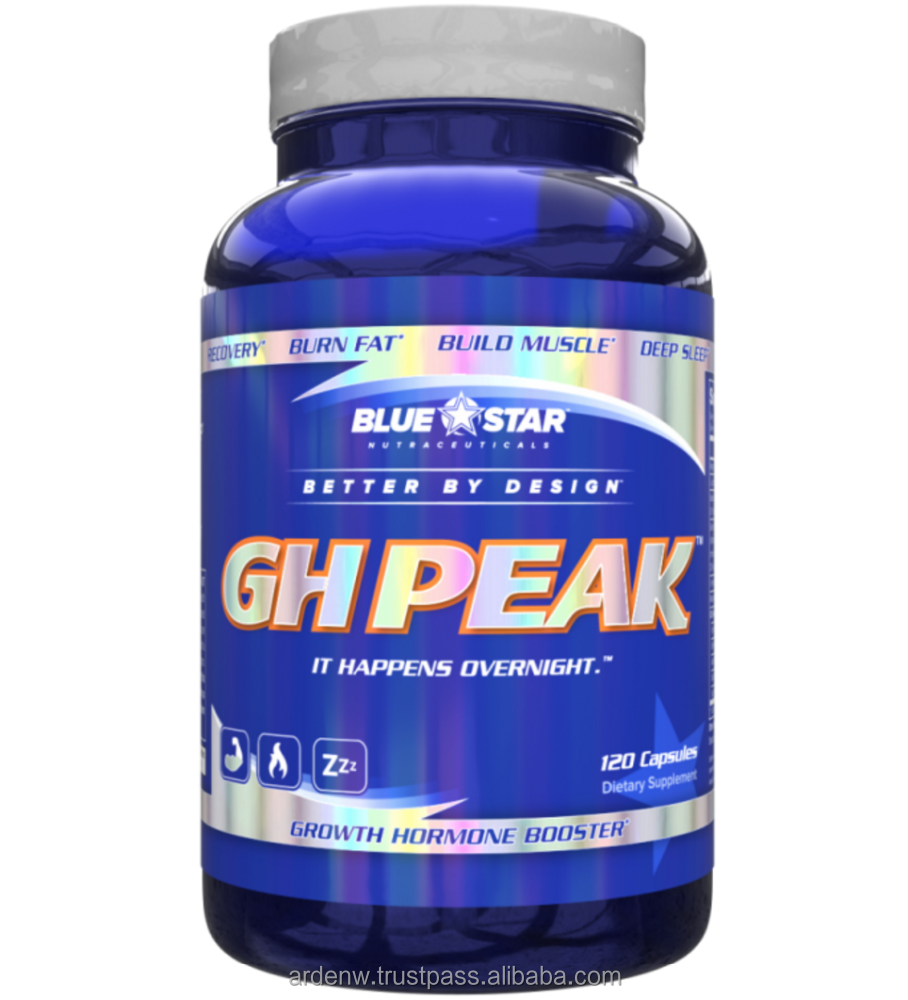 BLUE STAR NUTRACEUTICALS GH Peak - Turn your time asleep into the most productive part of your day