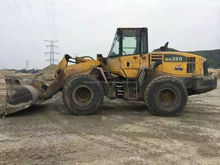 Used KOMATSU WA320 Wheel loader , WA320,200,WA300,WA400,WA420/470 used komatsu wa320-5 hot sale in shanghai low price