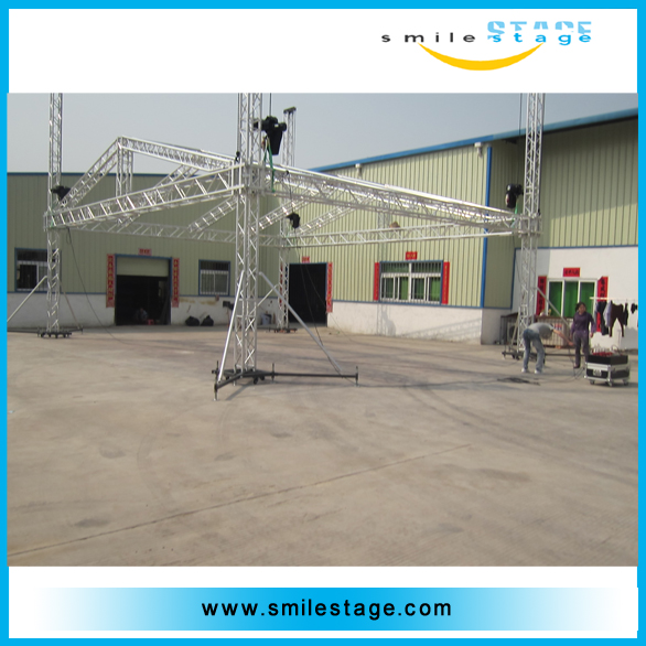 square tube easy stadium exhibition truss