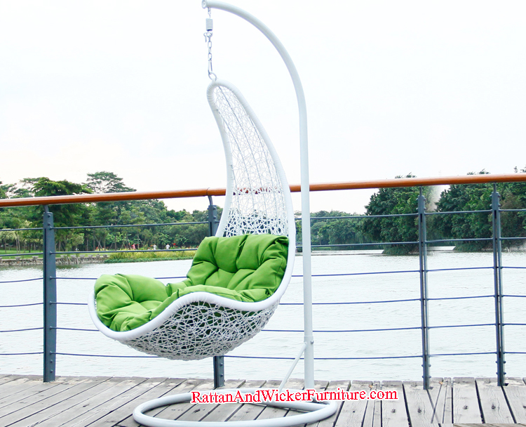 Rattan/wicker stylish garden swing outdoor furniture