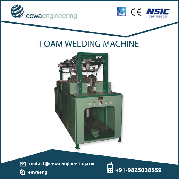 Advanced Technologically Made Foam Welding Machine from Renowned Exporter
