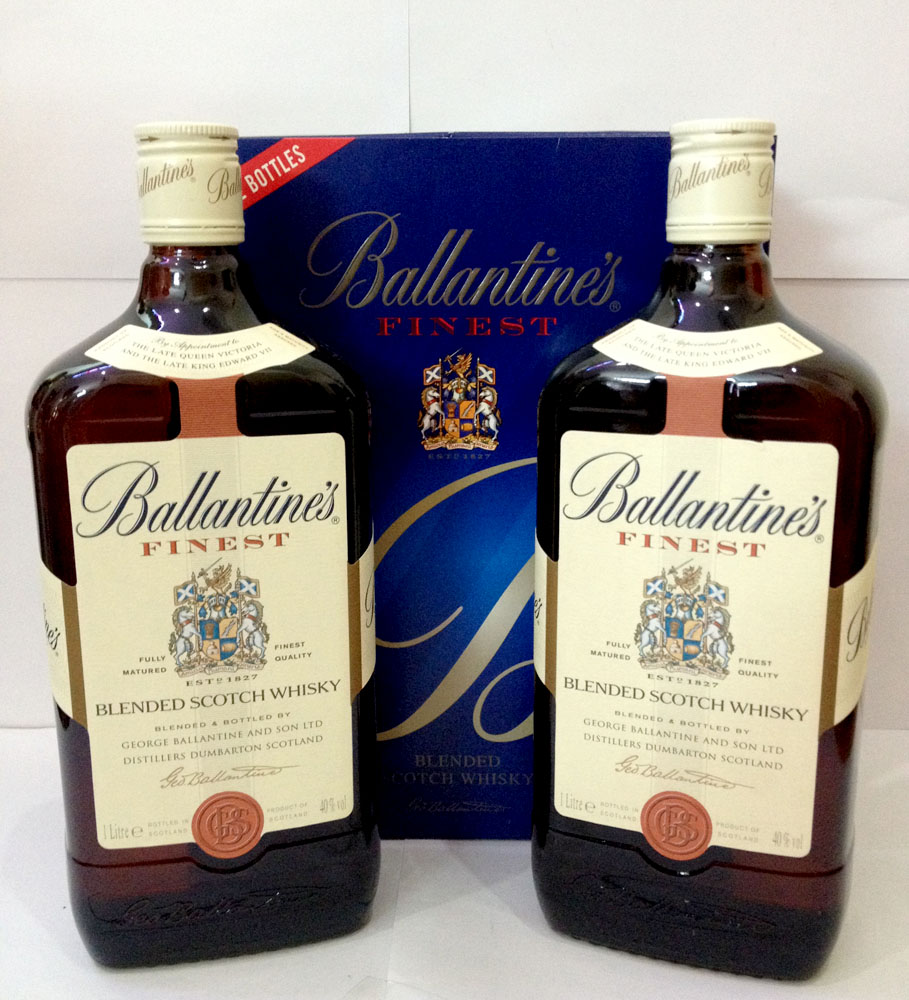 Ballantines Finest whisky, GBX