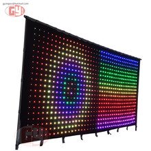led backdrop in led displays