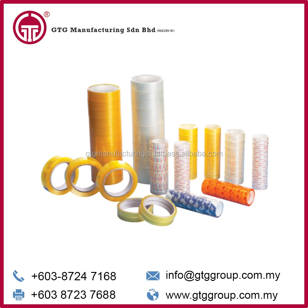 Single Sided Adhesive BOPP Stationery Tape