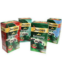 Jacobs Kronung Ground Coffee 250g And