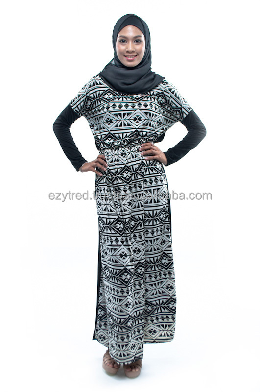 Melissa Tribal Jubah Dress