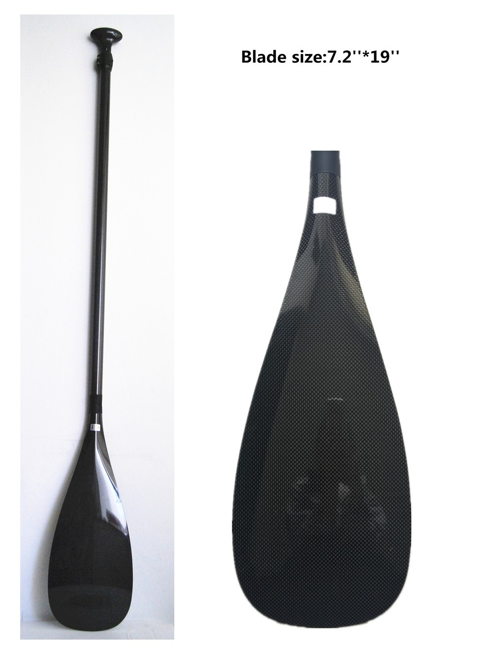 Customized Design Adjustable Lightweight Stand Up Carbon Fiber Sup Paddle