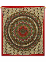 100% cotton Indian Mandala Turkish round beach towel/Indian Round Beach Towel Tapestry /Home Decor with pom pom