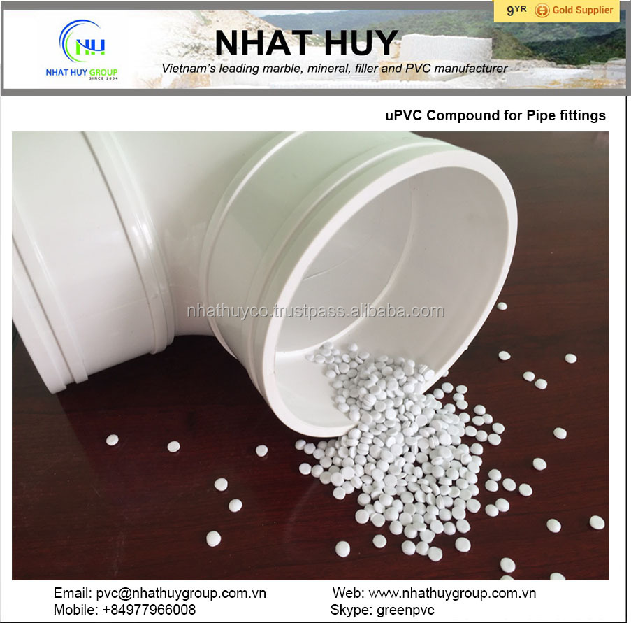 uPVC compound for fittings