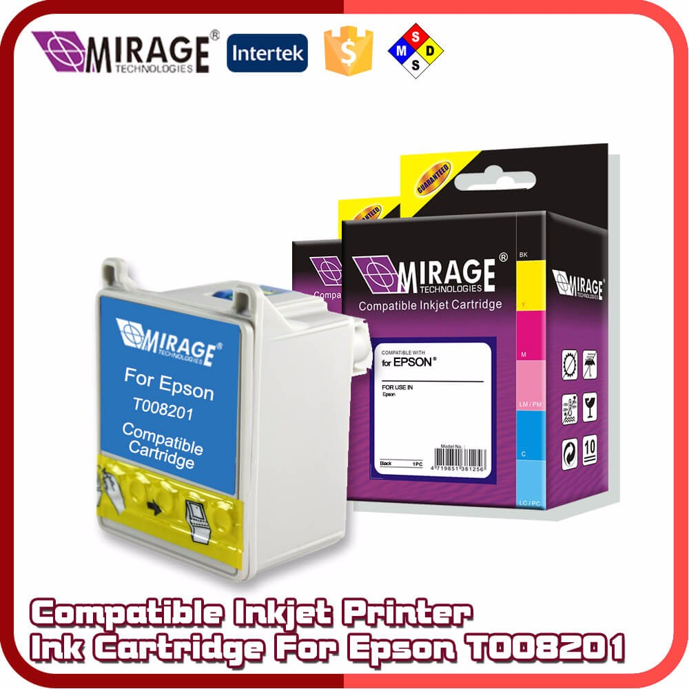 Compatible Inkjet Printer T008201 Ink Cartridge For Epson