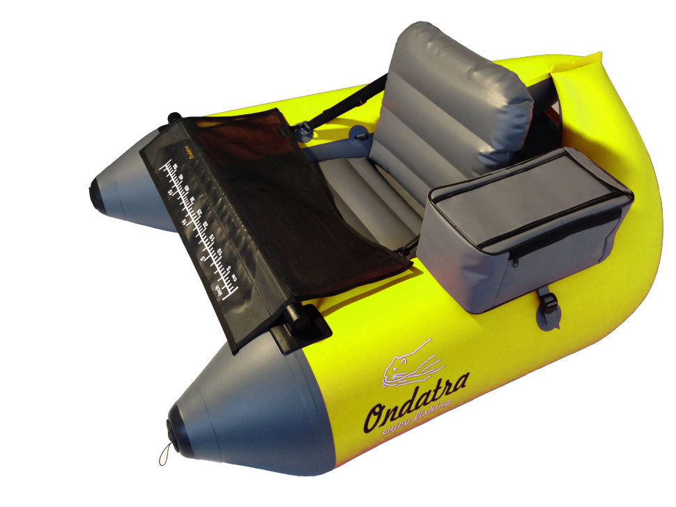 Inflatable PVC Fishing Float Tube (Belly Boat) ONDATRA 5,4 kg. Yellow