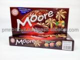 MOORE-CHOCOLATE COOKIES- HAZELNUT CHOCOLATE FILLING-CHOLESTEROL FREE-HAND MADE COOKIES-VEGETARIAN-TOP MALAYSIA-TARBUS COOKIES