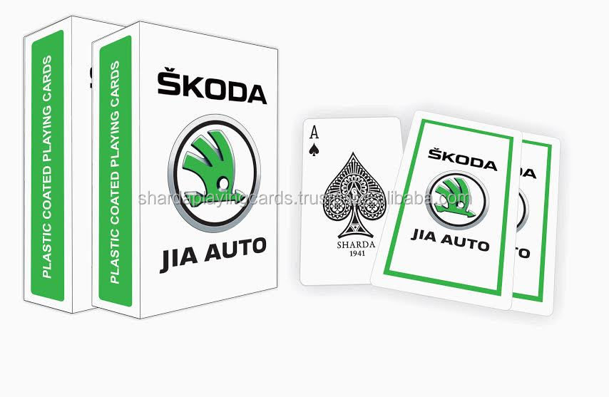 Skoda Promotional Playing Cards