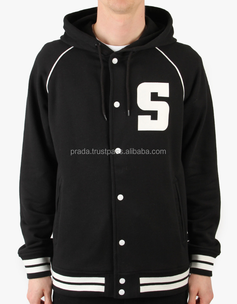 Hooded Varsity Jackets Manufacturers/Hooded Varsity Jackets From Factory/Hooded Baseball Varsity Jackets Makers