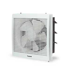 10'' Wall Mount Exhaust Fan with Louver