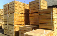 kd Dry Pine/Spruce wood for pallets manufacturin
