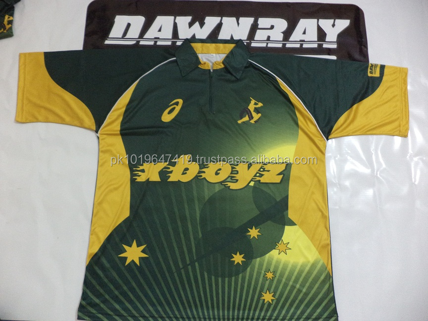 cricket uniform / cricket team colors kits