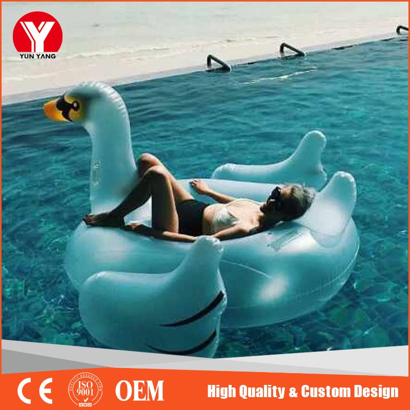 PVC Removable inflatable cup holder float for sale
