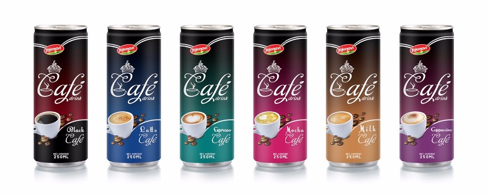 Espresso coffee manufacturers 250ml JOJONAVI beverage brands