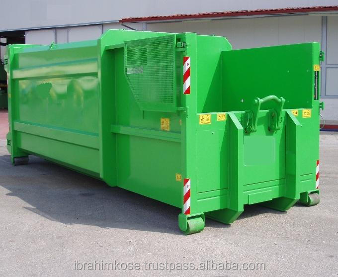 Press Abroll Container 6m3 8m3 12m3 16m3 20m3 25m3 hooklift hook lift bin container