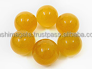 Yellow Aventurine Agate Ball | gemstone sphere & Balls