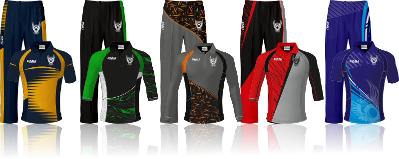 Sublimated cricket kits