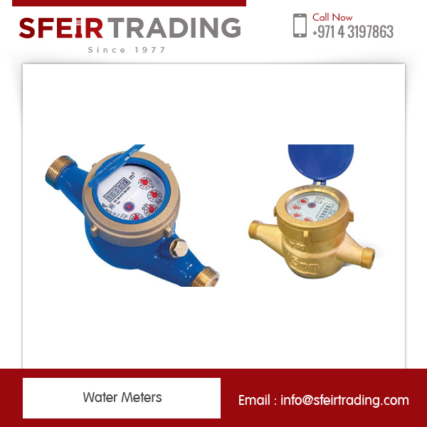 High Resistant Volumetric Water Meter Available In Plastic and Cast Iron Conformity