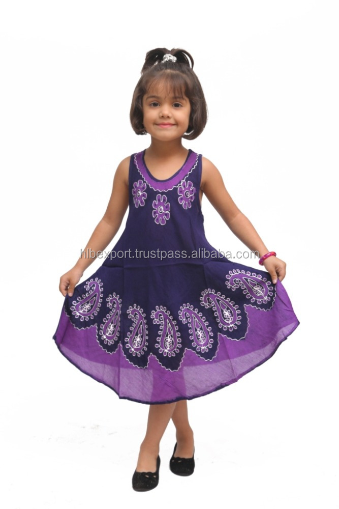 Casual Children Sleeveless Dress new design 2017