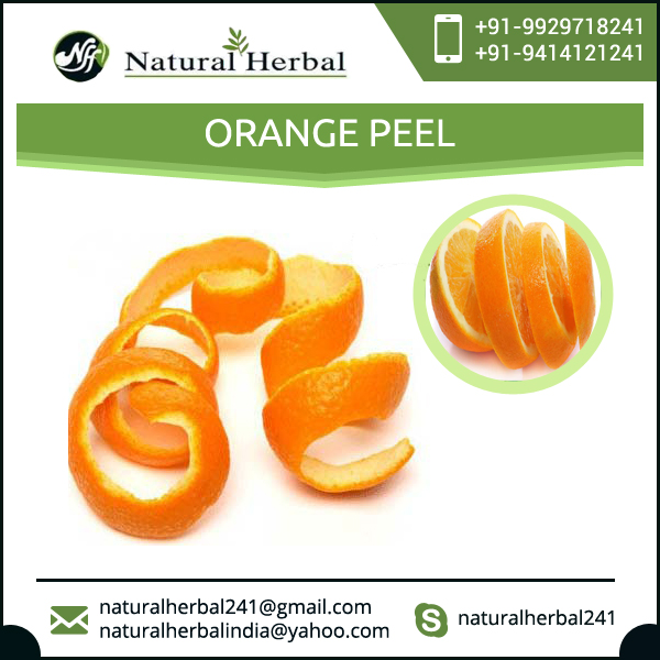 Best Selling Orange Peel for Food & Beverages Industry