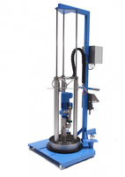 Modern barrel emptying system ViscoMT-L for clean emptying directly from original container