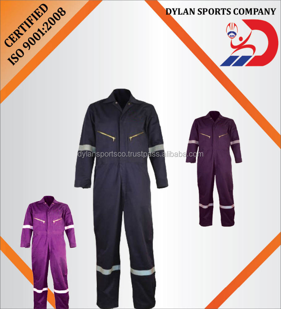 2016 High Quality safety workwear uniform coverall work wear uniform