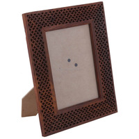 Handmade Photo Frame Made of Wood For Sale