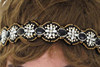 Professional Factory Supply OEM design beaded headband girls hair for sale