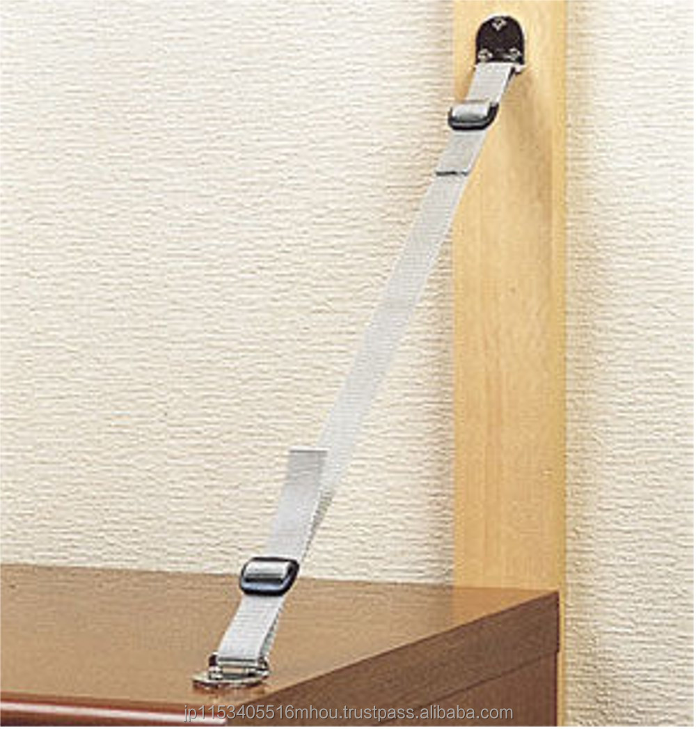 Easy to use Earthquake sensor ,Furniture Fall Prevention Fastener for Personal use ,Hot-selling,by Amon(MYST)of Japan