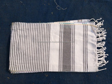 Wrap beach and bath towel Peshtemal fouta hammam cotton woven from MANUFACTURER