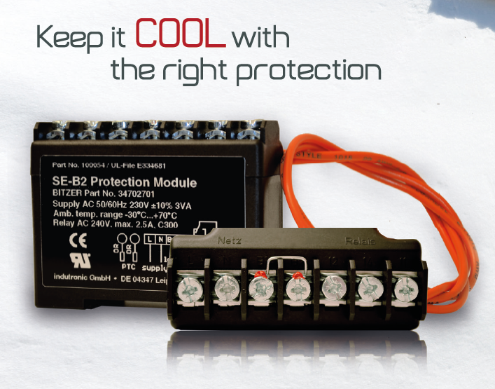 Protection Modules SE-B2 for scroll and reciprocating compressors