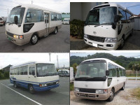 Japanese and Low cost used toyota coaster buses japan at reasonable prices long lasting