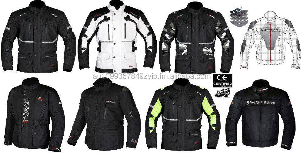 Motorbike Jackets with Armours