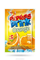 Orange Powder instant drink 10gr/2liter