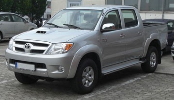 Japanese and Durable used toyota hilux vigo for irrefrangible accept orders from one car